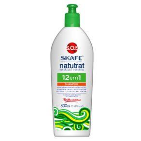 Skafe Naturat SOS Reparação Poderosa - Shampoo 12 em 1 300ml