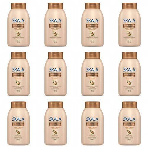 Skala Amêndoas Doces Loção Hidratante 500ml (kit C/12)