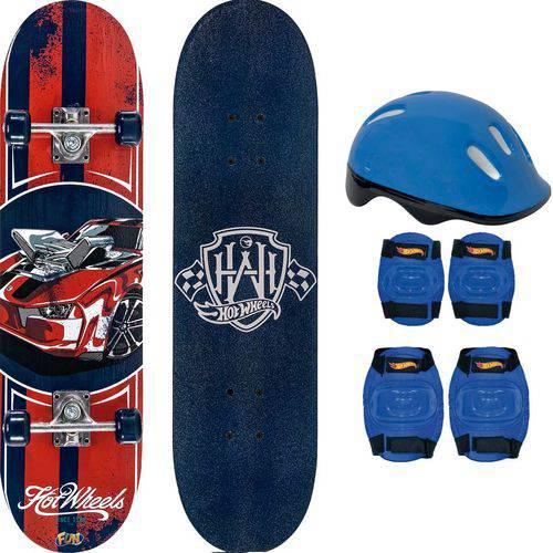 Skate com Acessórios Hot Wheels Fun 76205