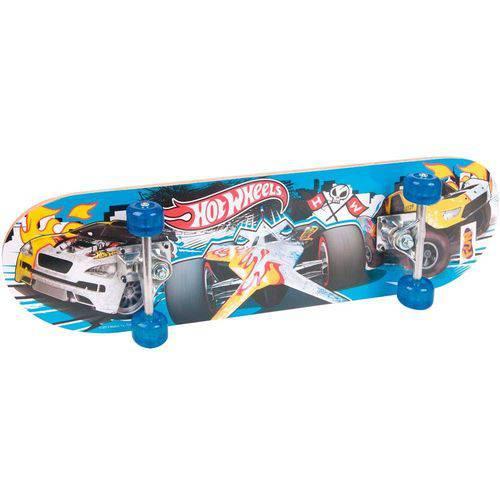 Skate Hot Wheels com Acessorio Carro Vermelho
