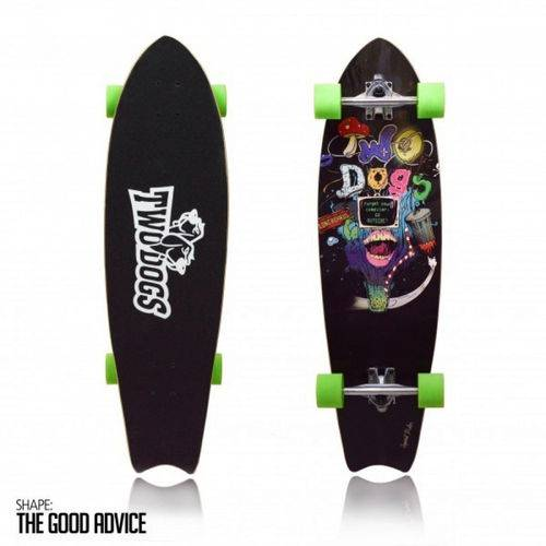 Skate Long Board Twodogs Speed Rider D3 Abec11 Two Dogs