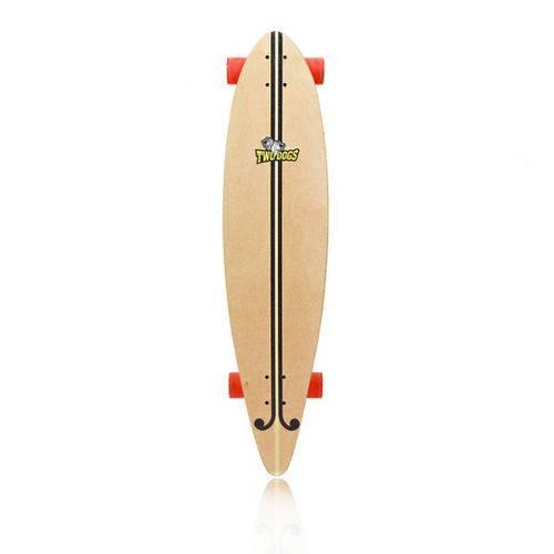 Skate Longboard Two Dogs Flying D2