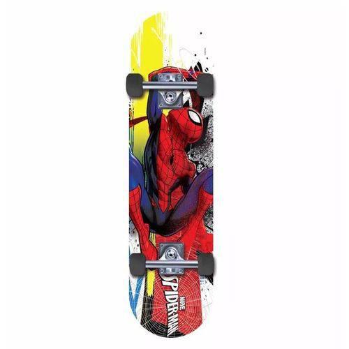 Skate Marvel Spider Man Amarelo e Vermelho - Dtc