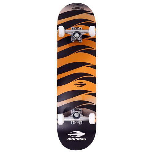 Skate Skateboard Mormaii Alpha Shape ABEC-5 Laranja