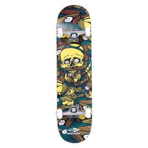 Skate Skateboard Mormaii Chill Abec-5 Amarelo
