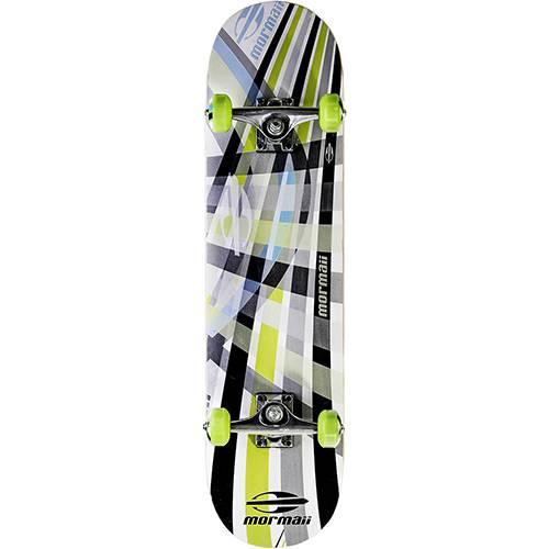 Skateboard Chill Mormaii Cinza e Verde