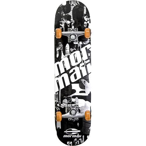 Skateboard Chill Mormaii Preto e Branco