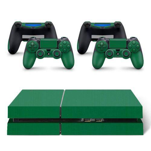 Skin Adesivo Protetor Playstation 4 (Verde)