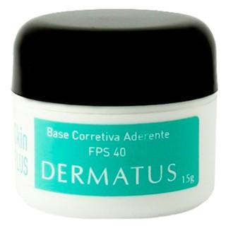 Skin Plus Base Corretiva Aderente FPS 40 Dermatus - Base Facial Corretiva Cor C