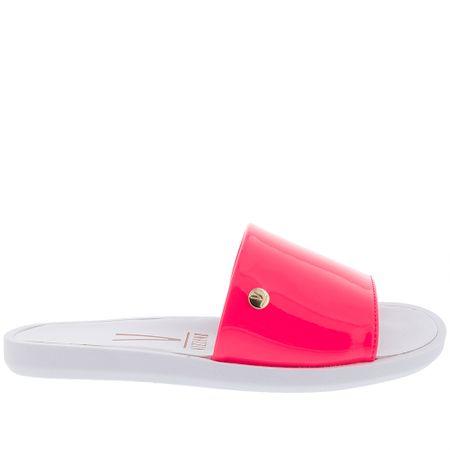 Slide Vizzano Verniz Rosa Neon