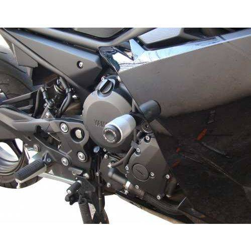 Slider Protetor de Motor Yamaha Xj6f 10.. Verde Ninja