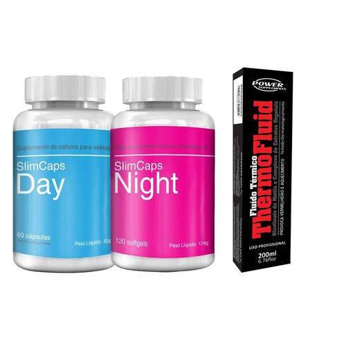 SlimCaps (Kit Dia e Noite) + ThermoFluid