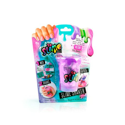 Slime Shaker Roxo Neon Surpresa - Fun Divirta-se