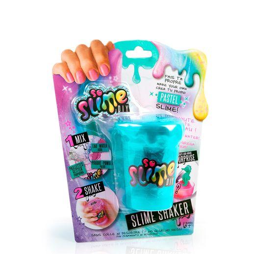 Slime Shaker Turquesa Pastel Surpresa - Fun Divirta-se