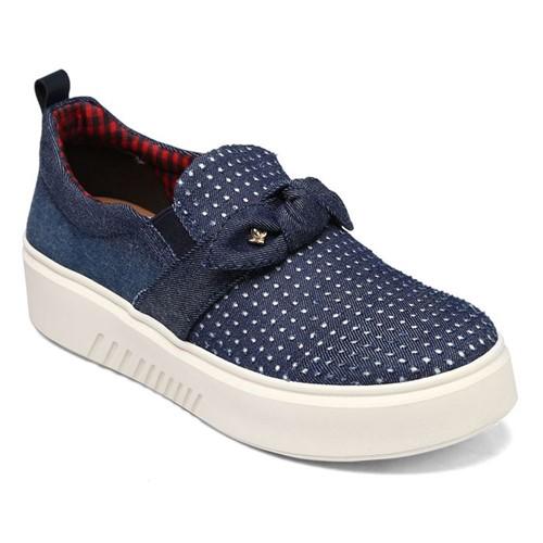 Slip On Cravo e Canela Jeans Azul 161901