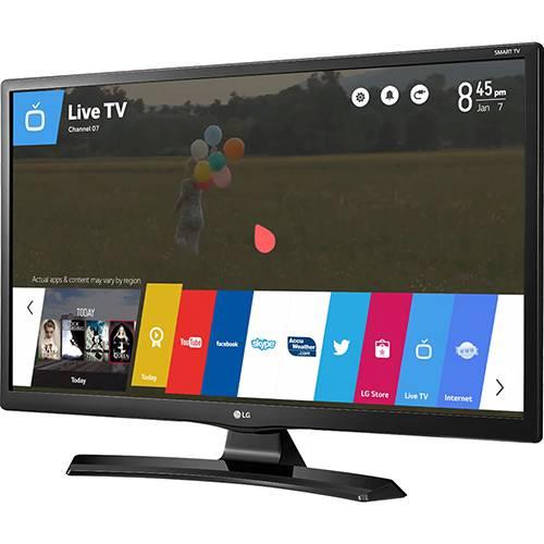 """Smart TV LG LED 28"""" 28MT49S-PS HD com Conversor Digital Wi-Fi Integrado 2 HDMI 1 USB WebOS 3.5 Apps Screen Share"""