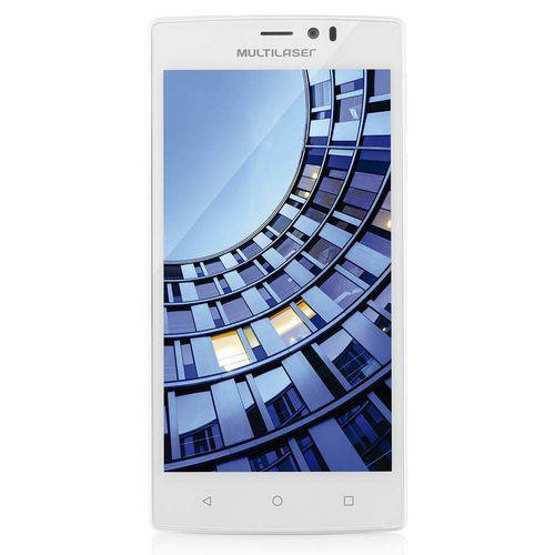Smartphone 4g 16gb Quad Core Branco Ms60 - Multilaser
