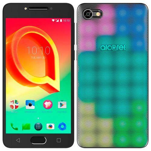 """Smartphone Alcatel A5 Led Max, Dual Chip, Preto, Tela 5.2"""", 4G+WiFi, Android 6.0, 16MP, 32GB"""