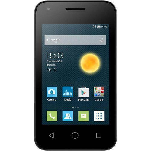 Smartphone Alcatel Pixi 3 Preto, 3G, Câmera 5MP, Dual Chip 4009I - Alcatel