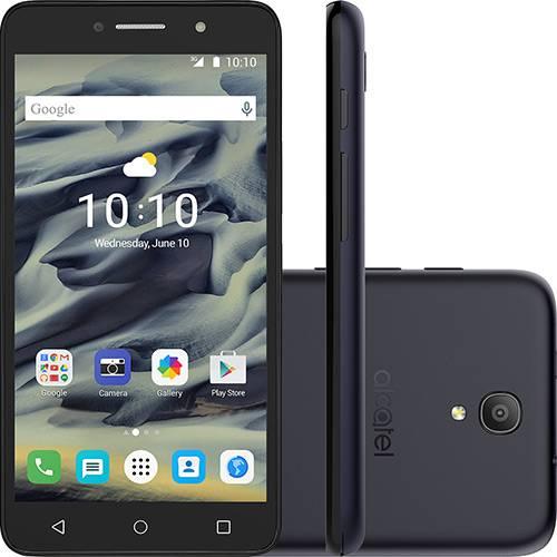 "Smartphone Alcatel Pixi4 Dual Chip Android 5.1 Lollipop Tela 6"" Quad Core 8 GB 3G Wi-Fi Câmera 13MP - Preto"