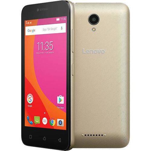 Smartphone Lenovo Vibe B Dual Chip Android 6.0 Tela 4.5 8gb 4g Câmera 5mp - Dourado