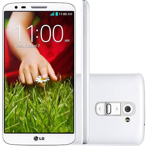 "Smartphone LG G2 Desbloqueado Android 4.2 Tela 5.2"" 16GB 4G Wi-Fi Câmera 13MP - Branco"