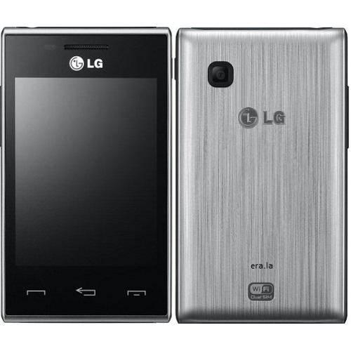 """Smartphone Lg T585 Desbloqueado Dual Chip Tela 3,2"""" Câmera 2mpx - Prata"""