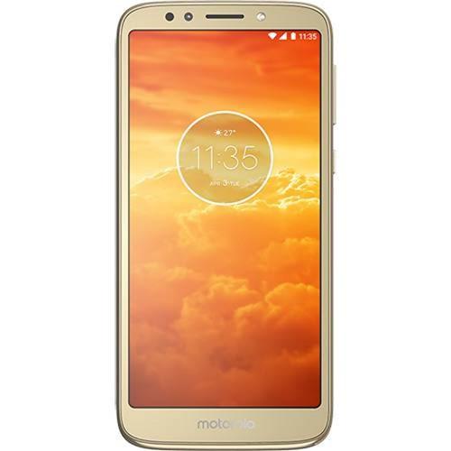 """Smartphone Motorola Moto e Play 16GB Câmera 8 MP Dual Chip 5,3"""" Celular Moto e Play 16gb 8mp Dual Chip Tela 5,3 Dourado XT1920"""