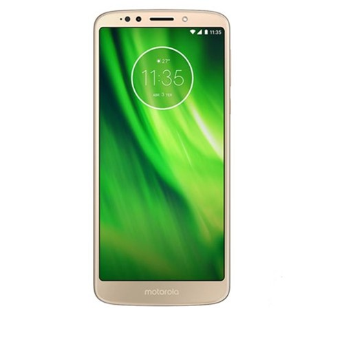 Smartphone Moto G6 32GB Octa Core RAM 3GB 4G 13MP Smartphone Motorola Moto G6 XT1922 Android Oreo 8.0 32GB Dourado