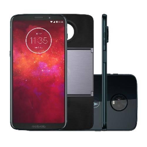 Smartphone Moto Z3 Play Dual Chip Projector Edition 64gb 4g Indigo Motorola