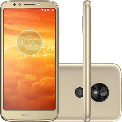 """Smartphone Motorola Moto E5 Play 16GB Dual Chip Android - 8.1.0 - Versão Go Tela 5.3"""" Qualcomm Snapdragon 425 4G Câmera 8MP - Ouro"""