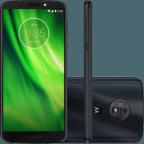 "Smartphone Motorola Moto G6 Play Dual Chip Android Oreo - 8.0 Tela 5.7"" Octa-Core 1.4 GHz 32GB 4G Câmera 13MP - Índigo"