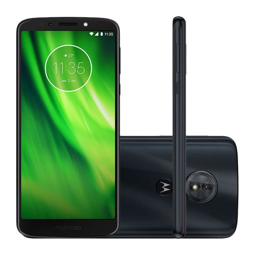 Smartphone Motorola Moto G6 Play 32GB Dual Chip 4G 5.7'' Câmera 13MP Android 8.0 Índigo