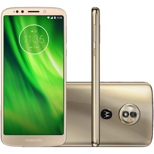Smartphone Motorola Moto G6 Play 32GB Dual Chip 4G 5.7'' Câmera 13MP Android 8.0 Ouro