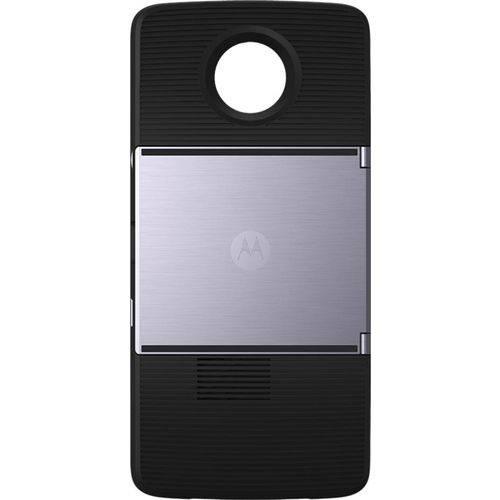 "Smartphone Motorola Moto Z3 Play Projector Edition Indigo Tela 6"" Android 8.1.0 Oreo Câm 12Mp + 5Mp"