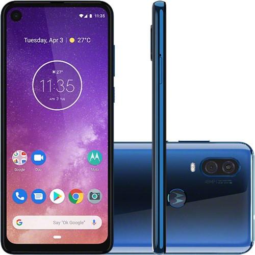 Smartphone Motorola XT1970 Moto One Vision Azul 128 GB