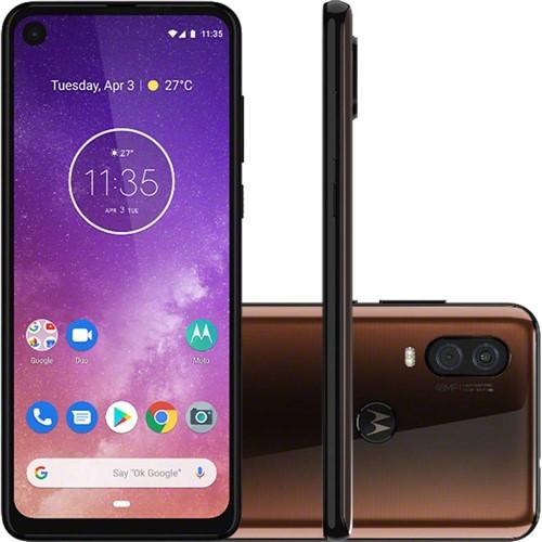 Smartphone Motorola XT1970 Moto One Vision Bronze 128 GB