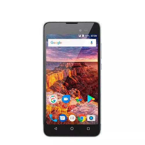 """Smartphone Multilaser Ms50l 3g Quadcore 1gb Ram Tela 5"""" Dual"""