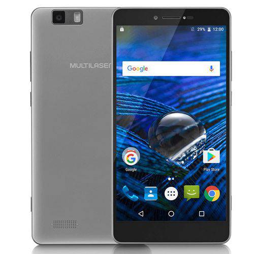 """Smartphone MS70 4G Dual Chip Android 6.0 Tela 5,85"""" Octa-Cor"""