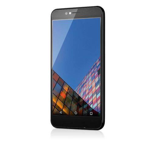 "Smartphone Multilaser Ms55 Colors Preto Tela 5,5"" Câmera 5.0 MP, Quad Core, Android 5.1"