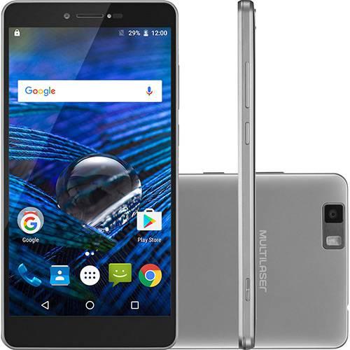 "Smartphone Multilaser Ms70 Dual Chip Android 6 Tela 5,8"" Octa-core 32GB 4G Câmera 16MP - Prata"