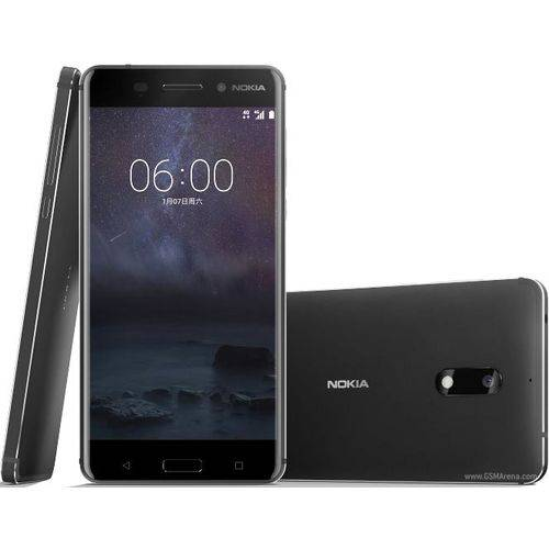 Smartphone Nokia 6 Dual Chip Android 7.1 Tela 5.5 32gb 4g Camera 16mp - Preto