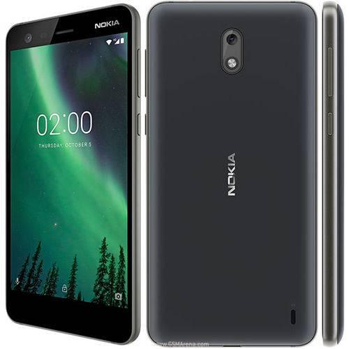 Smartphone Nokia 2 Dual Chip Android 7.1 Tela 5.0 8GB Camera 8MP Bateria 4100mah - Preto