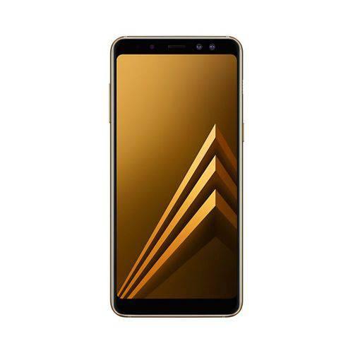 Smartphone Samsung A8 Dual Chip Android 7.1 Tela 5.6 64gb 16mp+8mp Dual Cam Bivolt