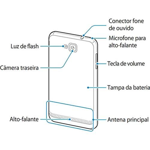 Smartphone Samsung Ativ S I8750 Desbloqueado Prata Windows Phone Câmera 8MP 3G Wi-Fi Memória Interna 16GB