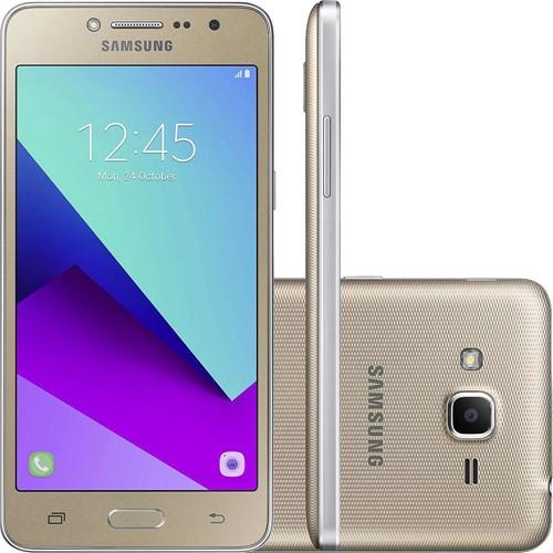 Smartphone Samsung G532 Galaxy J2 Prime Dourado 16 GB - Oi