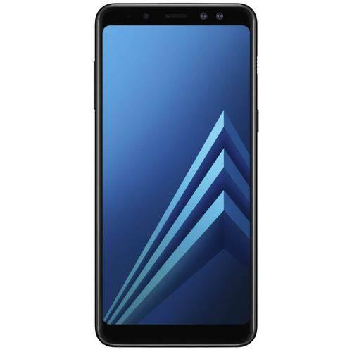 Smartphone Samsung Galaxy A8 Preto Dual Chip 64GB Tela de 5,6 Câmera de 16MP