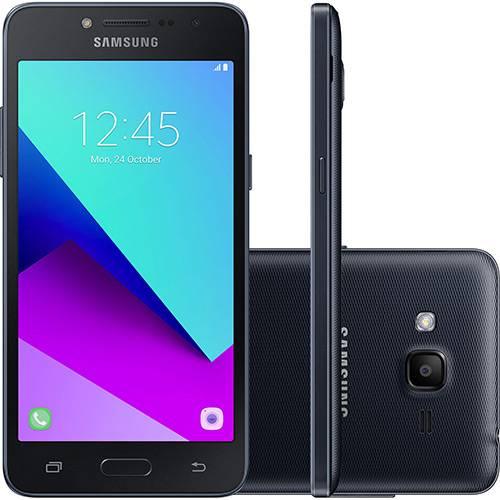 "Smartphone Samsung Galaxy J2 Prime Dual Chip Android 6.0.1 Tela 5"" Quad-Core 1.4 GHz 16GB 4G Câmera 8MP - Preto"