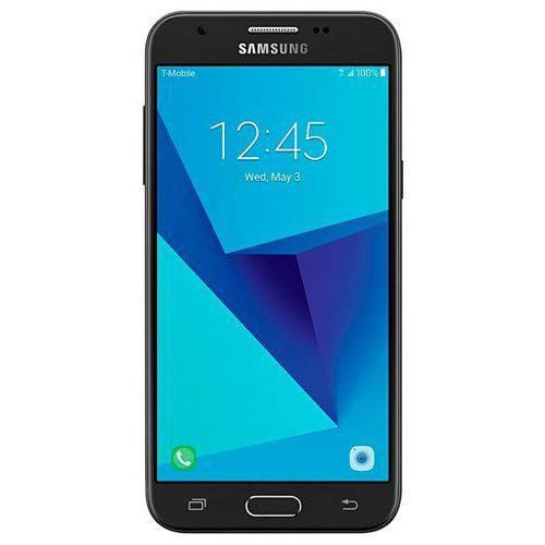 Smartphone Samsung Galaxy J3 Prime Sm-j327t1 16gb de 5.0 5mp 2mp os 7.0 - Preto