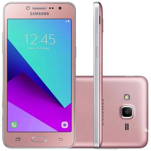 "Smartphone Samsung Galaxy J2 Prime TV G532MT 8GB Rosa Android 6.0 Dual Chip Câmera 8MP Tela 5"""